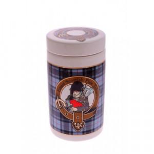 Банка для табака Шотландия серая DST 01