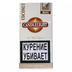 Сигариллы Candlelight Filter Coconut 10