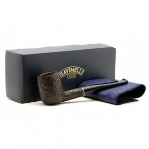 Курительная трубка Savinelli Tre Rusticated Brown 9 мм 104