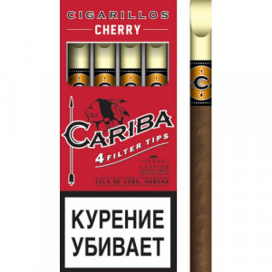 Сигариллы Cariba Cherry 4 шт.