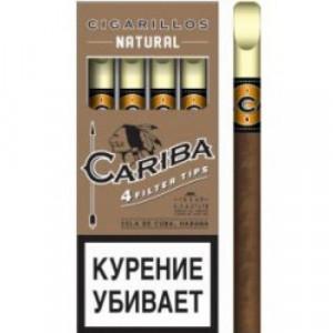 Сигариллы Cariba Natural 4 шт.
