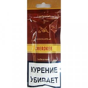 Сигариллы Cherokee Chocolate №5 саше 3 шт.
