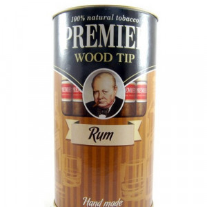 игариллы Premier Rum с мундштуком туба 25 шт.
