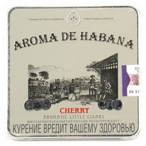 Сигариллы Aroma de Habana Cherry 10 шт.