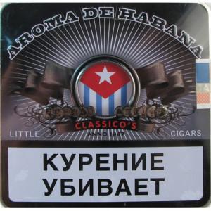 Сигариллы Aroma de Habana Classicos 10 шт.