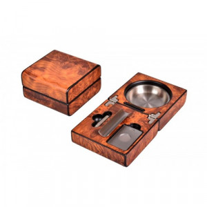 Пепельница Lubinski с подарочным набором Вяз
