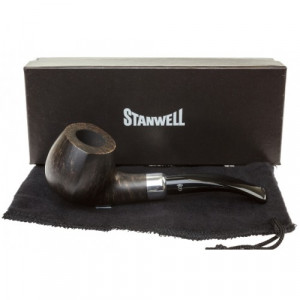 Трубка Stanwell Army Mount Light Black Polished 402