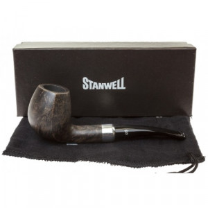 Трубка Stanwell Army Mount Light Black Polished 407