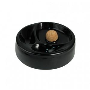 Пепельница для трубки керамическая (Черная)
