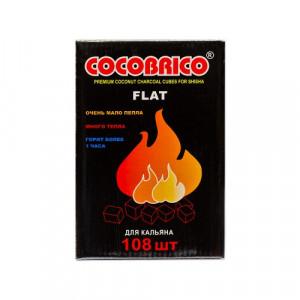 Уголь натуральный Кокосовый Cocobrico 108 шт