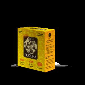Уголь для кальяна Ecocha КУБ кокосовый 24 кубика