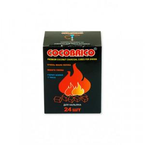 Уголь натуральный Кокосовый Cocobrico 24шт