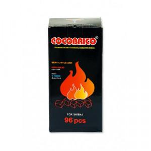 Уголь натуральный Кокосовый Cocobrico 96шт