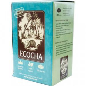 Уголь для кальяна Ecocha кокосовый 108 кубиков (12 шт/кор.)