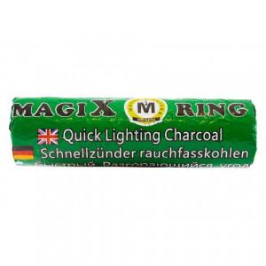 Уголь самовозгорающийся Magic Ring 1 туба (10 таблеток 35 мм)