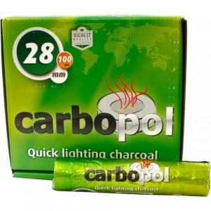Уголь древесный Carbopol, 28 мм