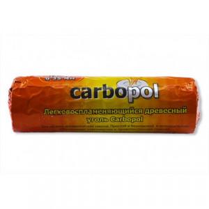 Уголь самовозгорающийся Carbopol 1 туба (10 таблеток 40 мм)