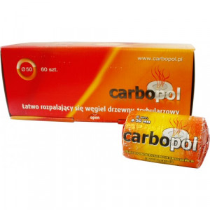 Уголь самовозгорающийся Carbopol (10 таблеток 50 мм)