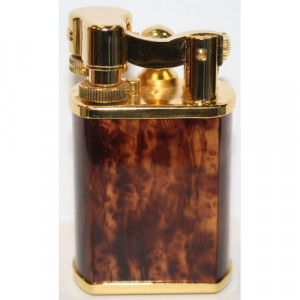 Зажигалка настольная Lubinski Gold Кремниевая